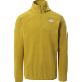 The North Face 100 Glacier Sweat-shirt avec Fermeture éclair 1/4 Homme, matcha green
